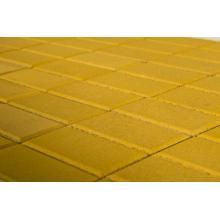 Жёлтая тротуарная плитка